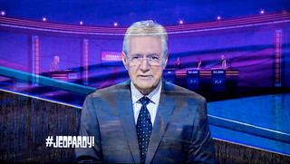 Trebek In Jeopardy! | by Russ Allison Loar