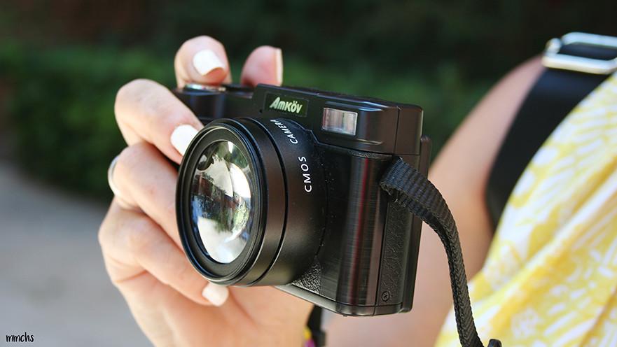 cámara digital Gearbest detalle