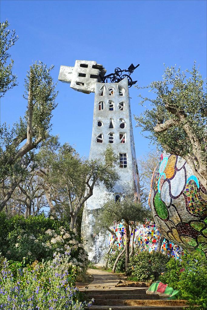 La tour de babel le jardin des tarots de niki de saint ph - Jardin tarots niki de saint phalle ...