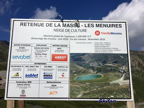 Projet Chantier retenue collinaire de la Masse | by -Skifan-