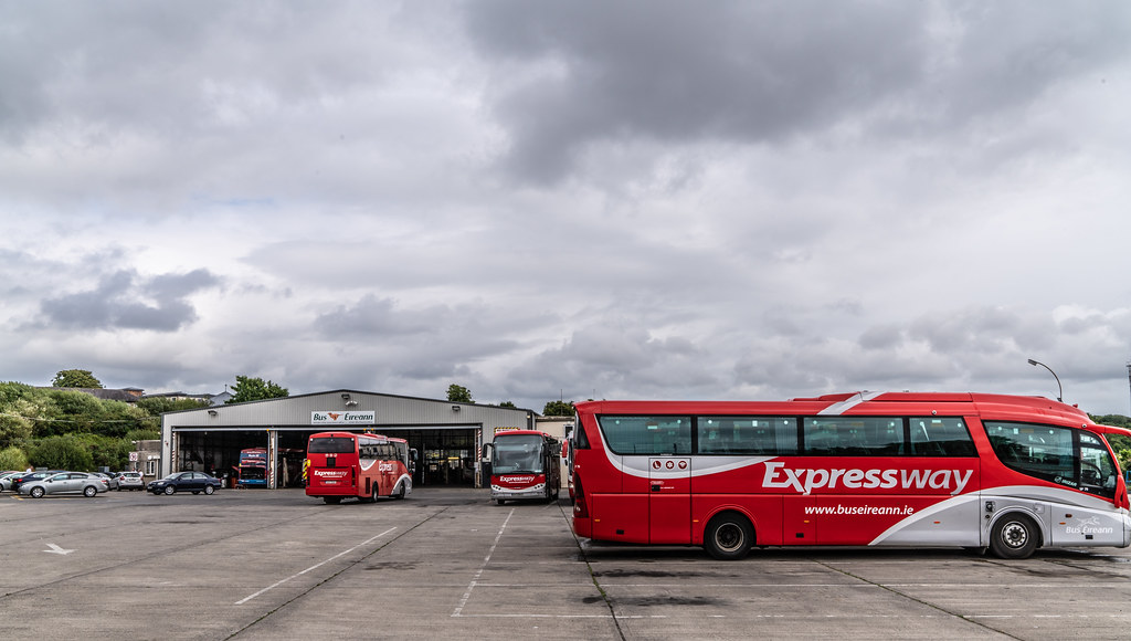BUS EIREANN DEPOT AND BUS SHELTER  FERRYBANK WATERFORD 008