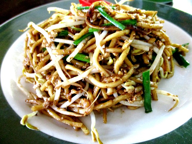 Chinese fried noodles, dry
