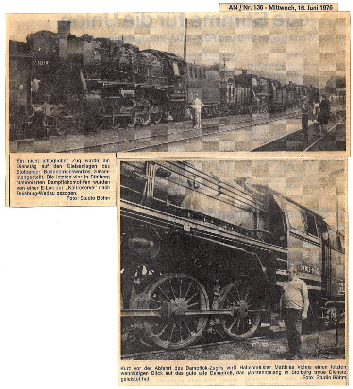 Aachener Nachrichten, 16. Juni 1976