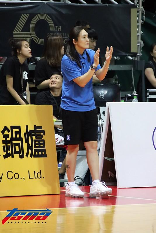 中華白總教練錢薇娟。(林志儒/攝)