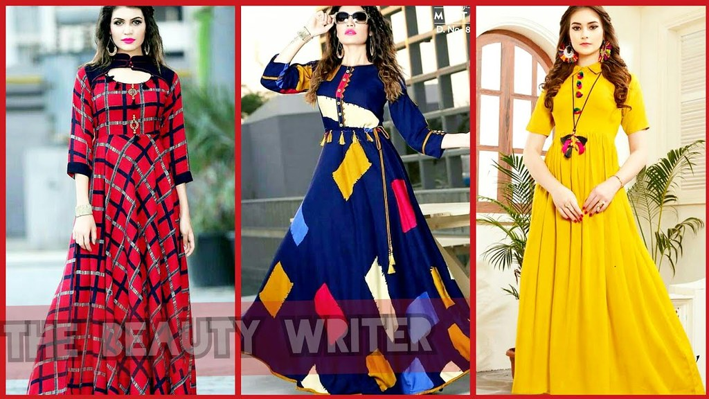 New Indian Pakistani Long Frocks Dress Designs For Girls Flickr