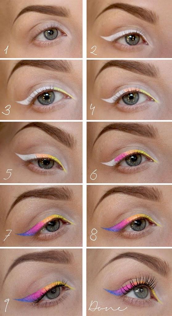 Makeup Ideas 2017 2018 Tutorial Neon Eyeliner Psycho Flickr