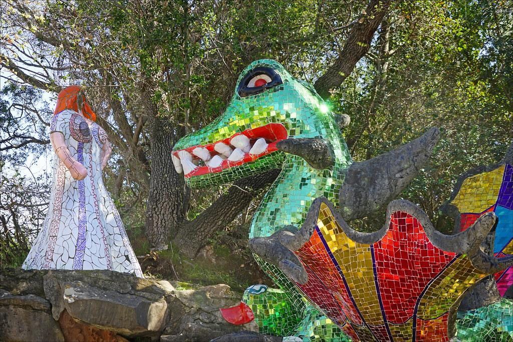 La force le jardin des tarots de niki de saint phalle c flickr - Jardin niki de saint phalle ...