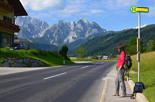 Waiting for the Post Bus, Austria