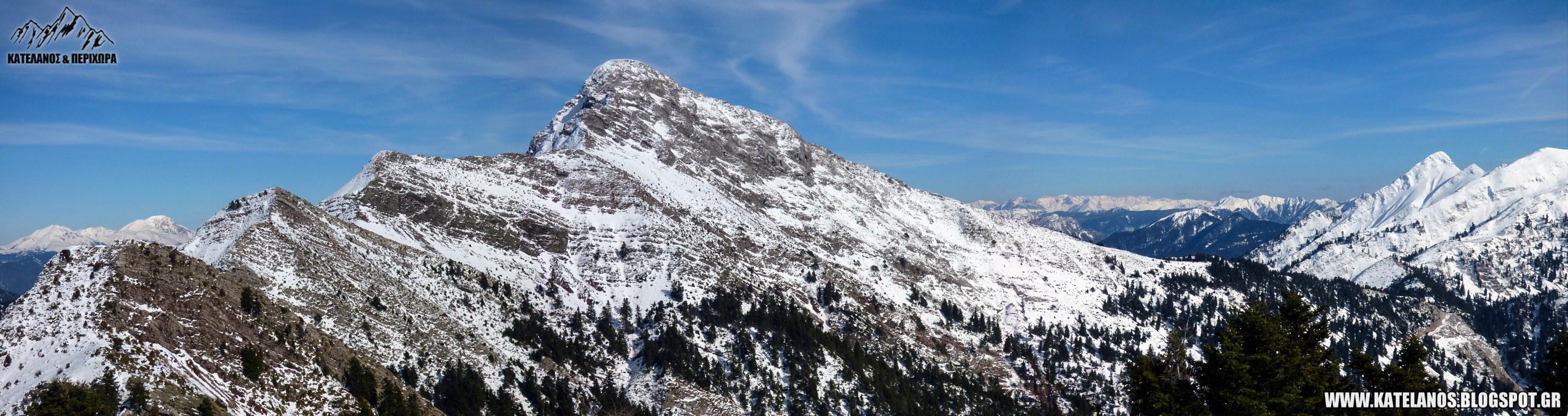 παναιτωλικο ορος χιονισμενο κουτουπας νεραϊδοβουνι