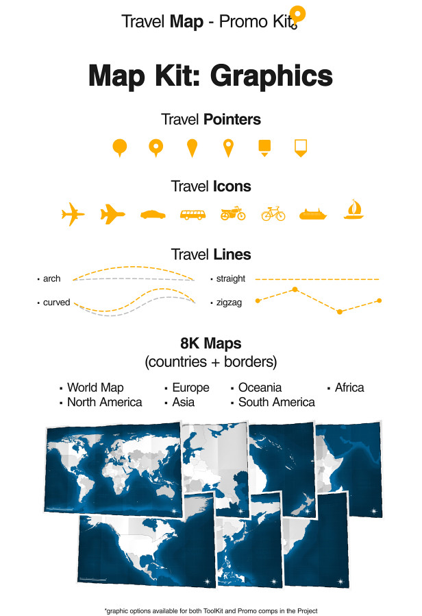 Travel Map - Promo Kit - 1