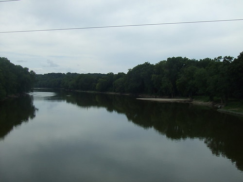 Wabash River view from Davis Ferry Bridge | by cjp02
