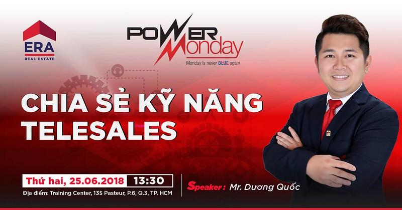 Power Monday - Chia sẻ kỹ năng Telesales