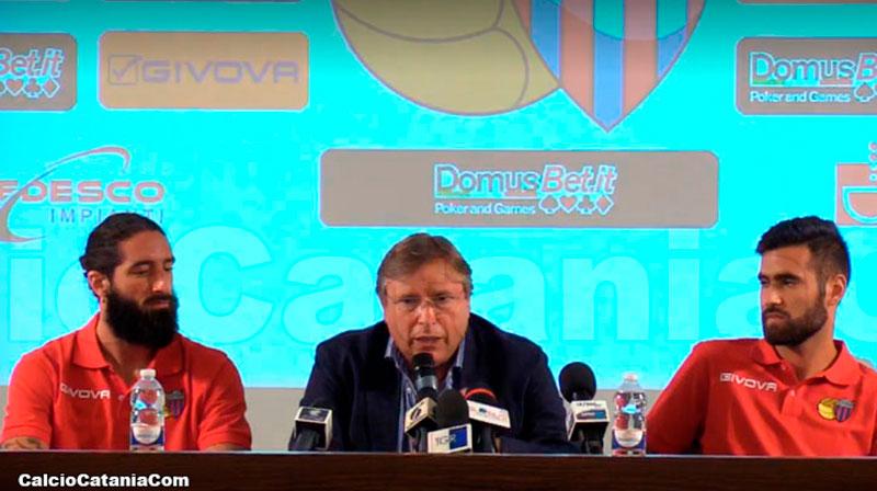 Il direttore Lo Monaco oggi in conferenza