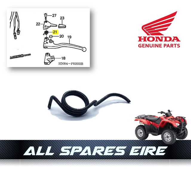 Rear Hand Brake Cable For 2003 Honda TRX400FW Foreman 4x4~Sports Parts Inc.