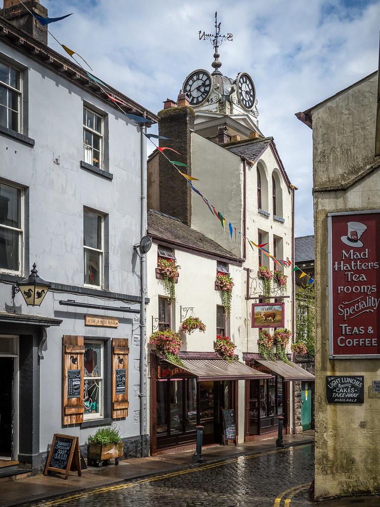Market Street Ulverston By Bob Radlinski