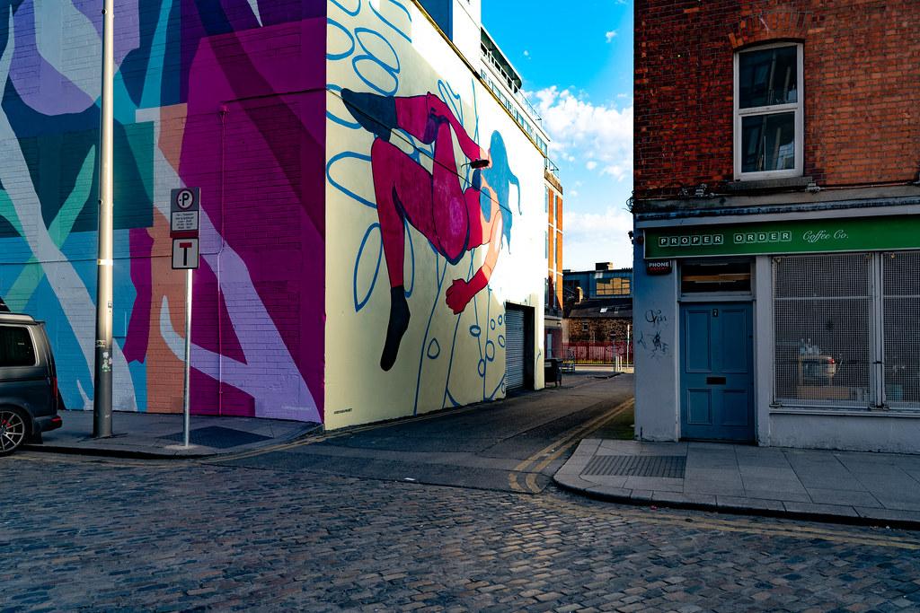 DUBLIN STREET ART IN SMITHFIELD [BURGESS LANE - HAYMARKET] 003