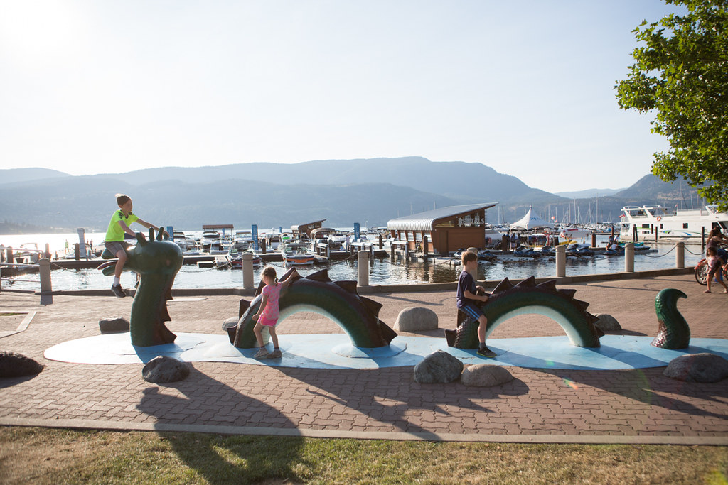 City Park in Kelowna