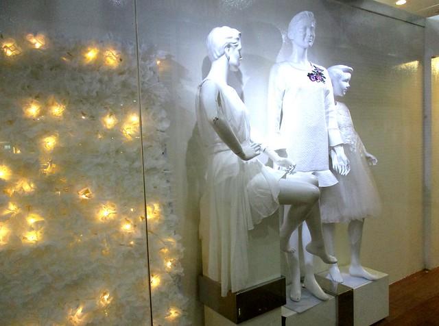 Medan Mall Departmental Store, window display