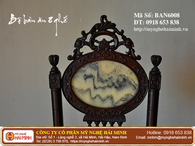 Ban An 8 ghe go go mynghehaiminh BAN6008m