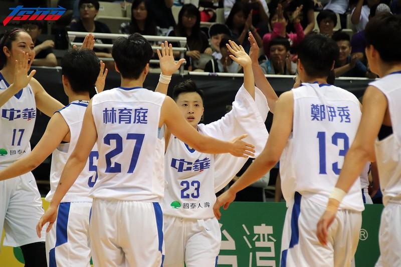 中華藍成功抗韓,拿下本季瓊斯盃季軍。(林志儒/攝)