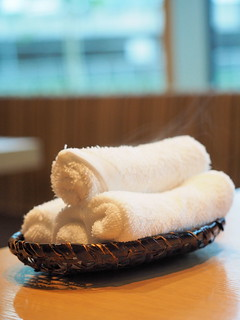 Hot Towel at Rakuzen Japanese Restaurant at 3 Damansara, Petaling Jaya | by huislaw