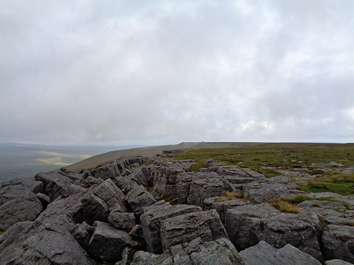 Great Whernside's western edge