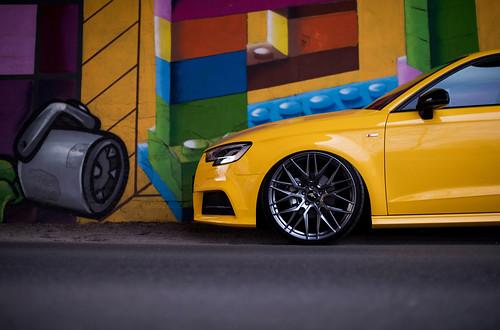 Audi A3 Jr28 Hyper Black Jr Wheels Flickr