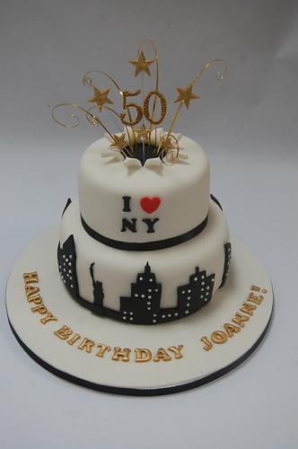 Tremendous Star Burst New York Cake Beautiful Birthday Cakes Funny Birthday Cards Online Elaedamsfinfo