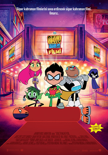 Genç Titanlar Filmi - Teen Titans Go! To the Movies (2018)