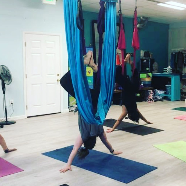 aerial yoga mantra fit
