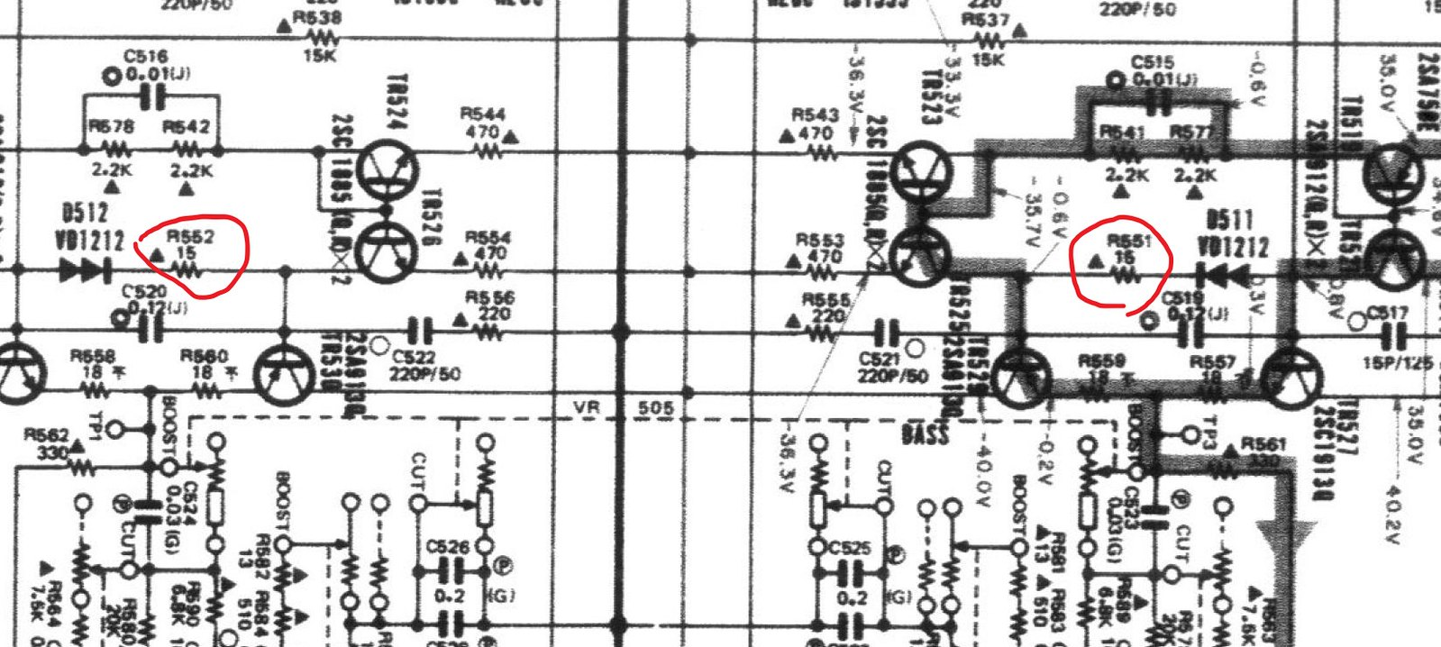 Yamaha C2a Preamp Another Thread About Crackling And Popping Page Stereo Audio Schematic Img