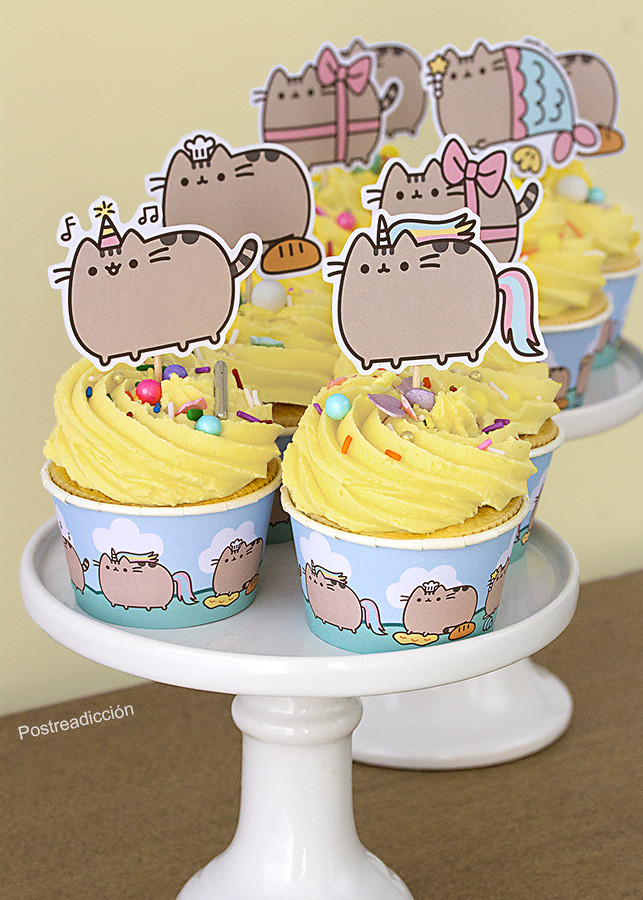 Pusheen candy bar