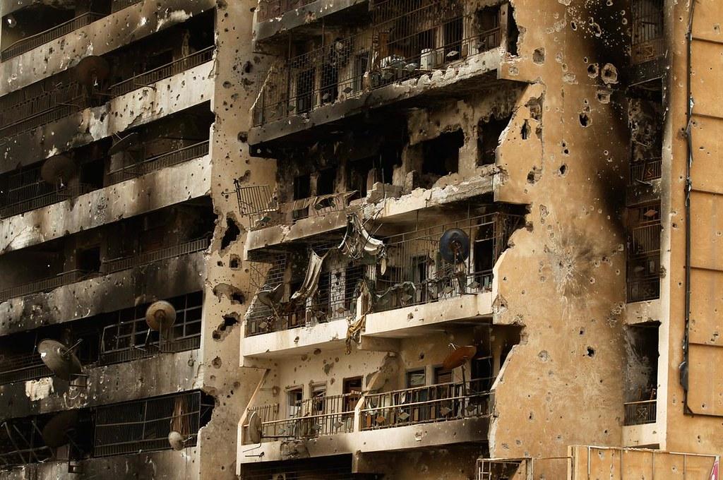 2011年,利比亞首都的黎波里經歷戰事後的滿目瘡痍。(圖片來源:Reuters/Zohra Bensemra)