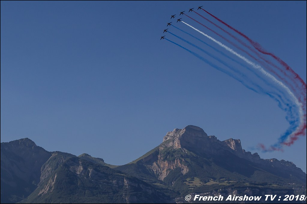 Patrouille de France , Grenoble Air Show -Versoud 2018 , Meeting Aerien Meeting Grenoble , Alpes Dauphiné , alpes , Canon EOS , Sigma France , contemporary lens , Meeting Aerien 2018