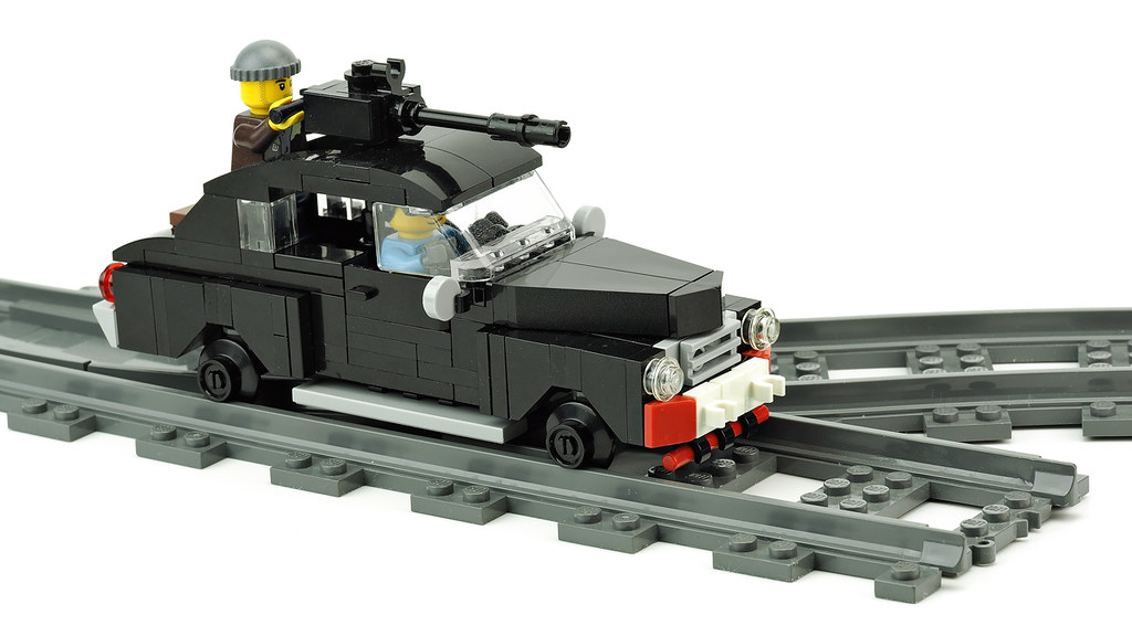 Custom Railcar Metro 2033 | Building instructions youtu.be/7… | Flickr