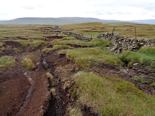 Eroded moorland
