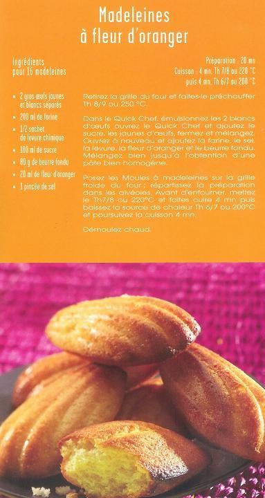 Madeleines A La Fleur D Oranger Pauline Schwartz Flickr