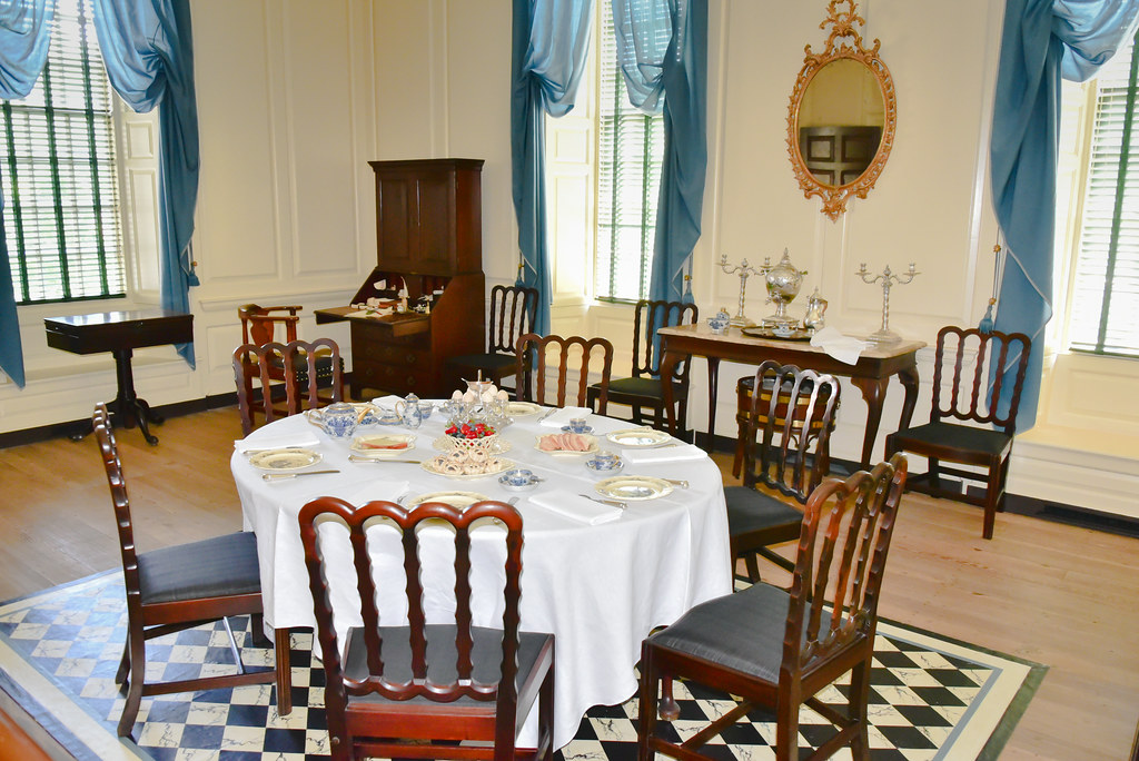 ... Governoru0027s Palace Dining Room At Colonial Williamsburg VA | By Mbell1975