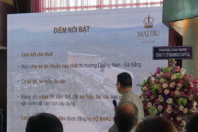 Lễ ký kết hợp tác phân phối dự án Malibu MGM Hội An