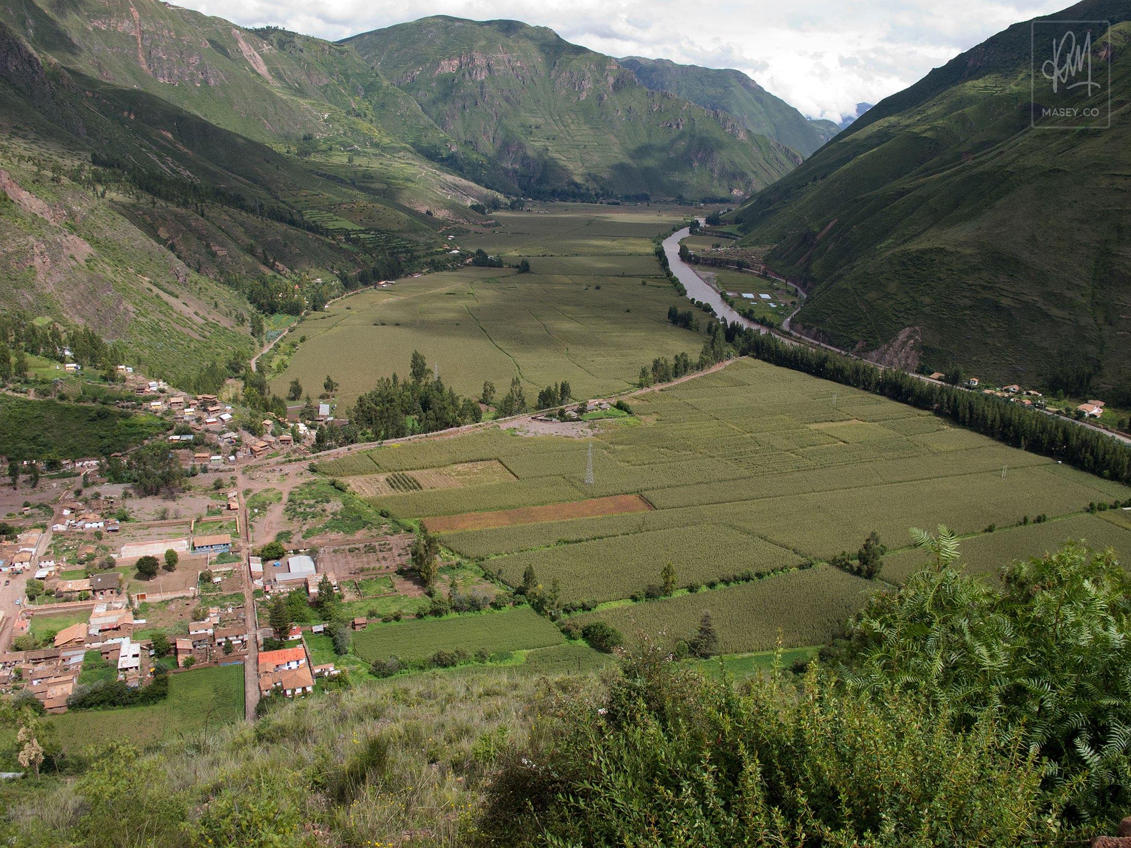 G Adventures South America: Day 9 - Ollantaytambo