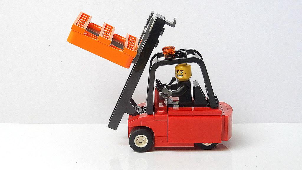 Simple Lego Forklift Moc 4k Youtugzvpu Jqwb4 Frantiek