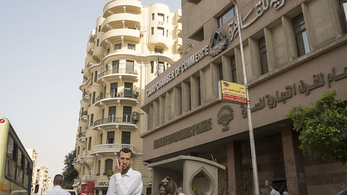 A Downtown Cairo building after renovation | by Kodak Agfa