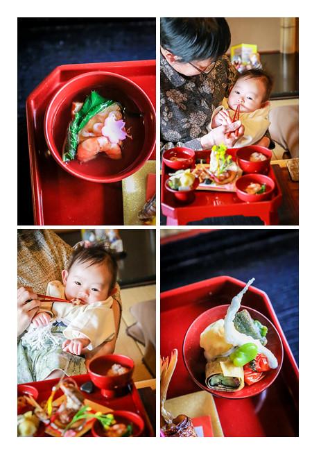 櫓心祜(ろここ)でお食い初め料理・お食事会(お宮参り・100日祝い)の出張撮影 名古屋市天白区 女性プロカメラマンによるロケーションフォト