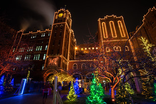 anheuser busch brewery christmas lights by slange789