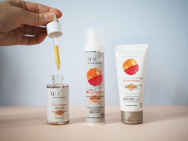 MOSSA Vitamin Cocktail -tuotteet