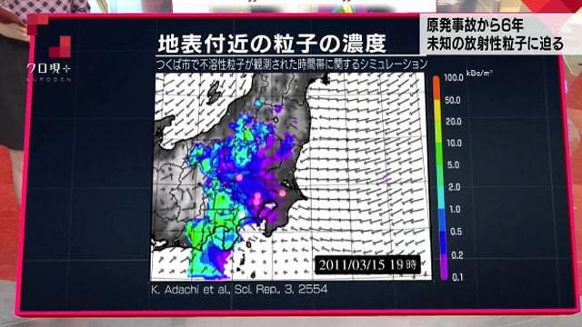 在體內待上數年 未知的福島核災隱患