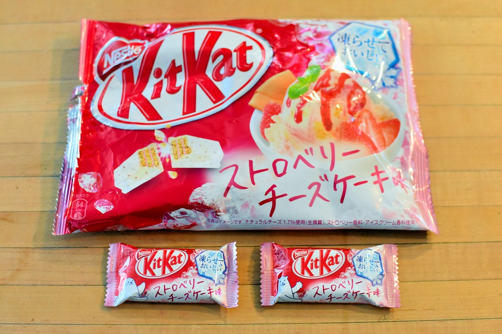 Image result for strawberry cheesecake kit kat