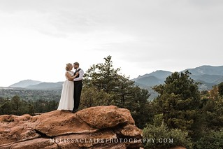 Garden of the Gods Elopement | by melissaclairephotography