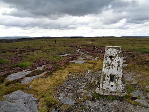 Birks Fell trig pillar