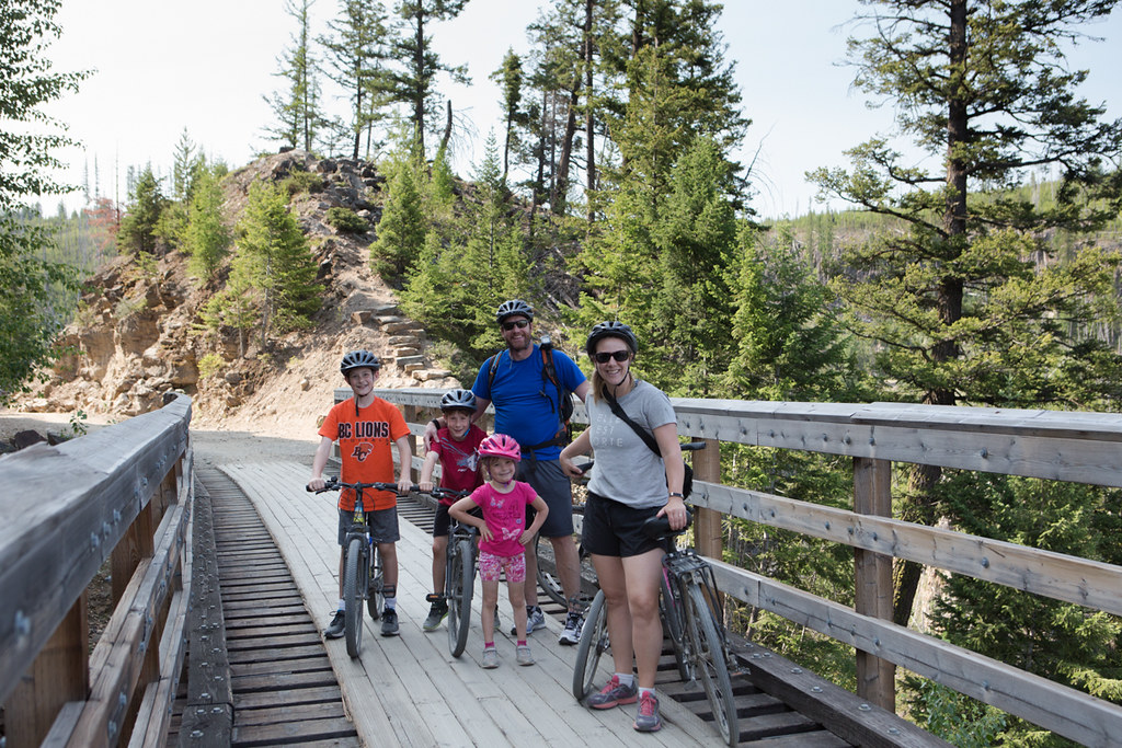 Myra Canyon Trestles bike ride